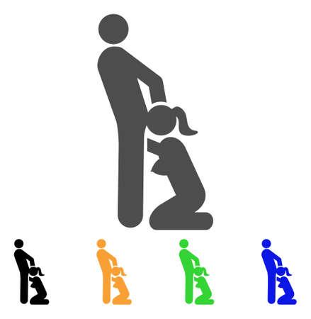 Oralsex Personen Symbol. Vektor-Illustration-Stil ist eine flache Ikone Oralsex Personen Symbol mit schwarzen, grauen, grünen, blauen, gelben Farbversionen. Entwickelt für Web- und Software-Schnittstellen.