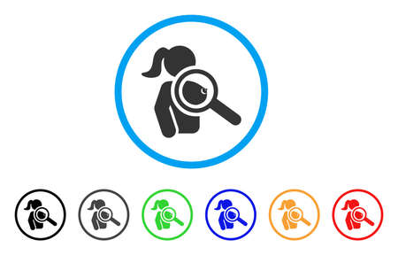 Find Naked Woman rounded icon. Style is a flat find naked woman grey symbol inside light blue circle with black, gray, green, blue, red, orange color versions.