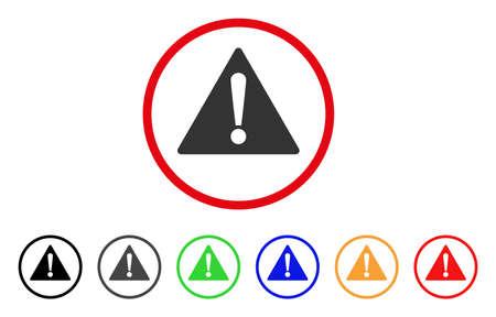 Warning icon Illustration