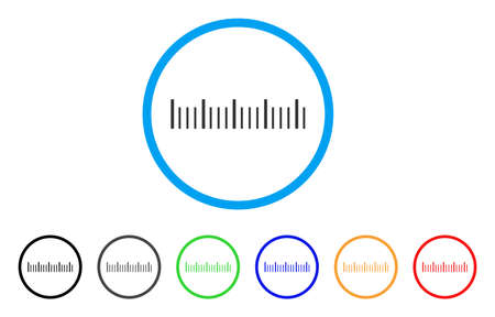 Ruler Graduation rounded icon. Style is a flat ruler graduation gray symbol inside light blue circle with black, gray, green, blue, red, orange versions.