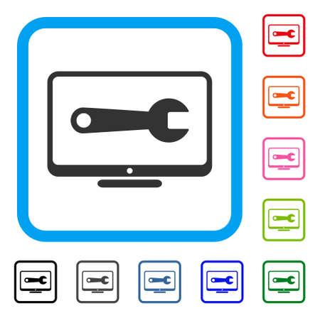 Desktop Configuration Wrench icon