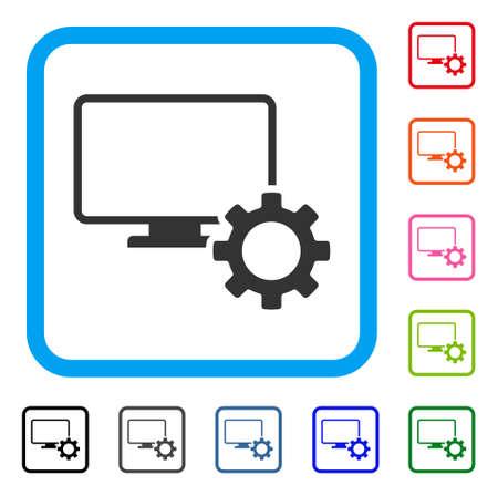 Desktop Options Gear icon