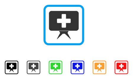 Health Care Presentation icon.