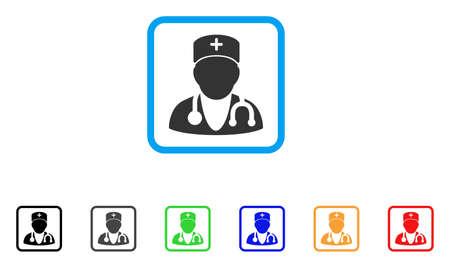 auscultation: Physician icon.