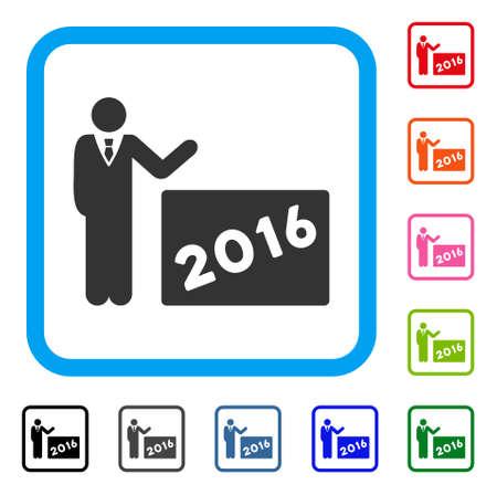 2016 show icône Banque d'images - 88059690