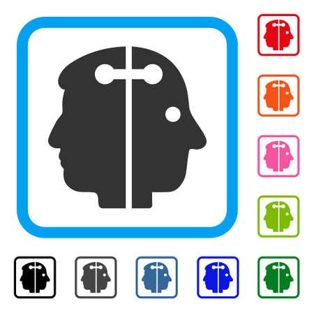 Dual Head Connection icon Çizim