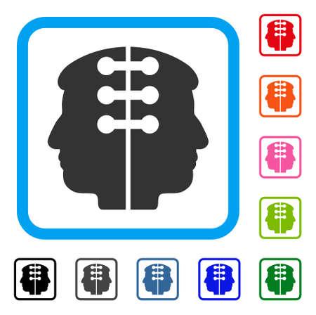 Dual Head Interface icon