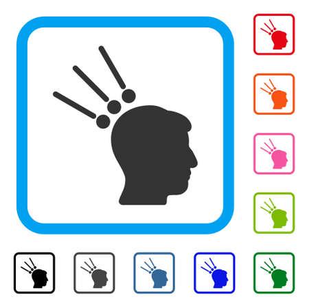 Head Test Connectors icon Illustration
