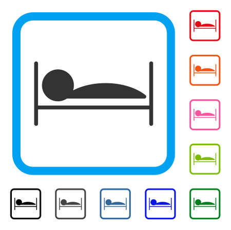 Patient Bed icon.