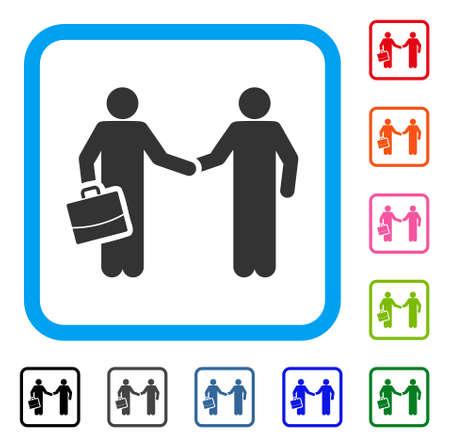 Contract Handshake Meeting icon