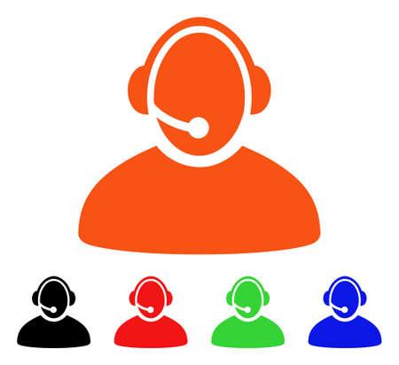 Call Center Operator icon.