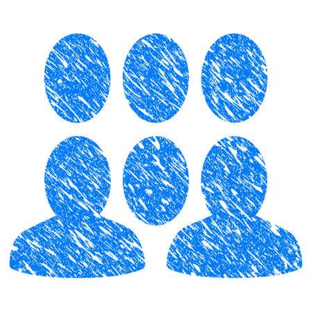 Icône grunge gris avec une conception rayée et la texture de la poussière . modèle gris vecteur plat personnalisé pour les boutons de site web et le logo de l & # 39 ; utilisation du matériel de la feuille de mot Banque d'images - 88257029