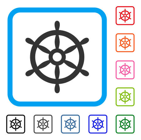 Boat Steering Wheel icon.