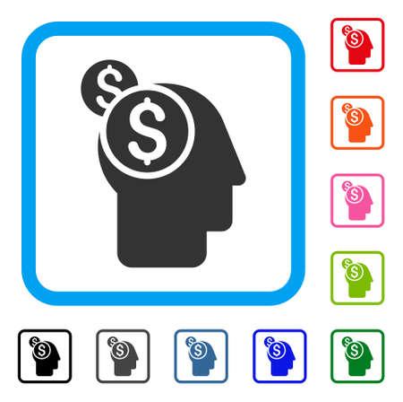 Business Thinking icon. Illustration