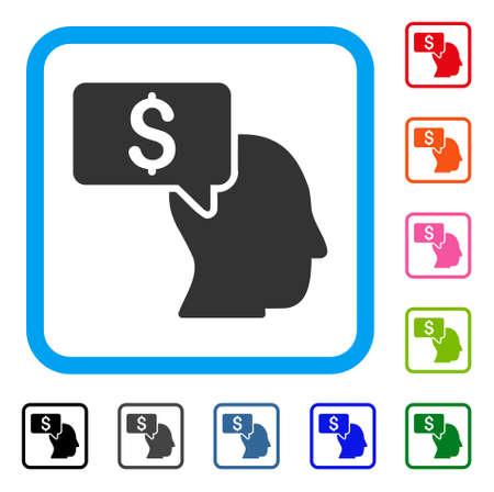 Businessman Idea icon.