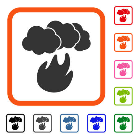 Fire With Smoke icon.