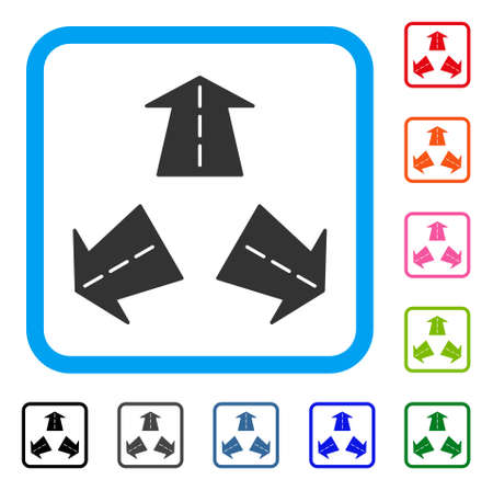 Road Directions icon.
