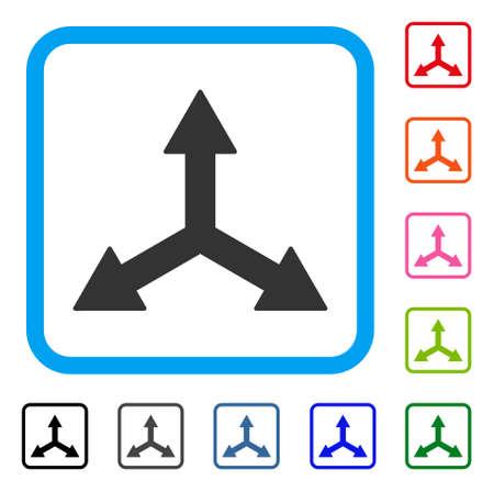 Triple Arrows icon.