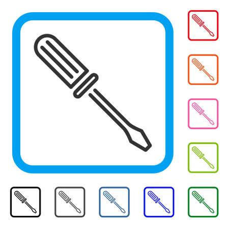 Contour Screwdriver icon.