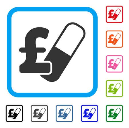 Farma Pound Business icon.