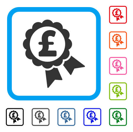Featured Pound Price Label icon.