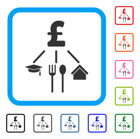 Pound Consumption Pattern icon.