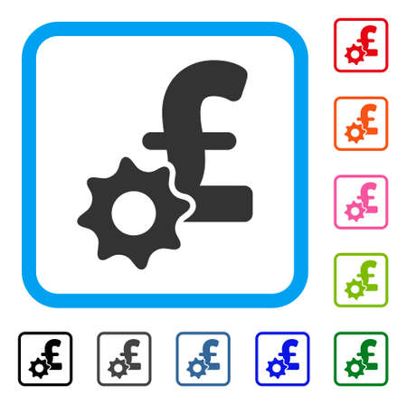 Pound Payment Options icon. Illustration