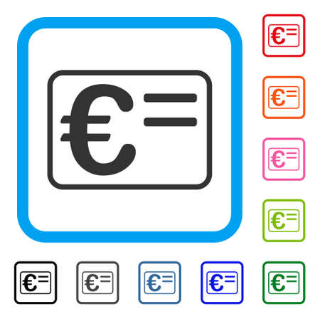 Euro Account Card icon.