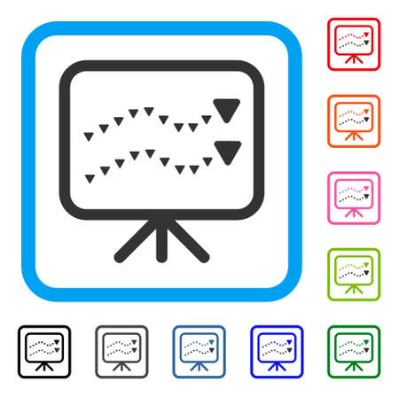 Dotted Trends Board icon.