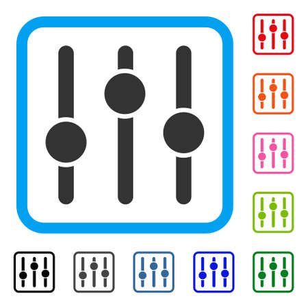 Equalizer icon Stock Vector - 88343613