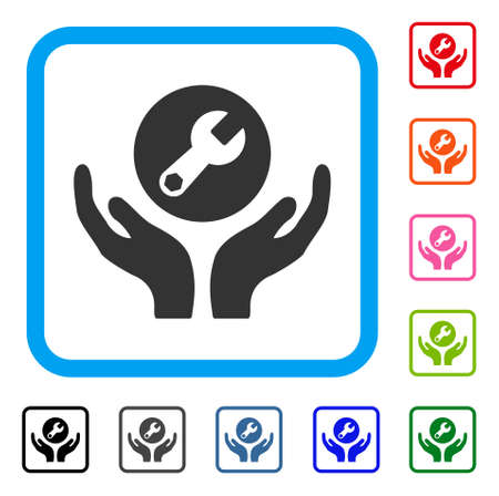 Wrench Maintenance icon. Illustration