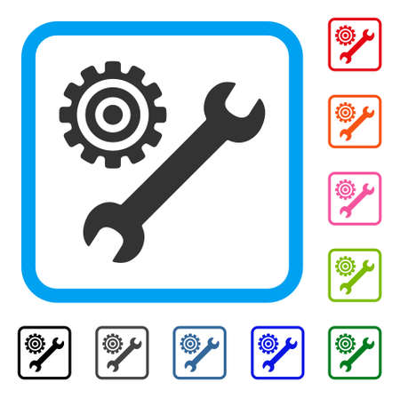 Service Tools-pictogram. Vector Illustratie