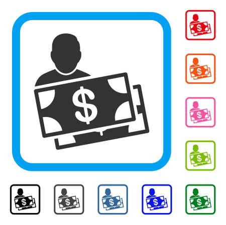 Investor icon. Stock Vector - 88462672