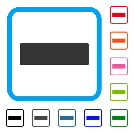 Remove icon. Ilustração