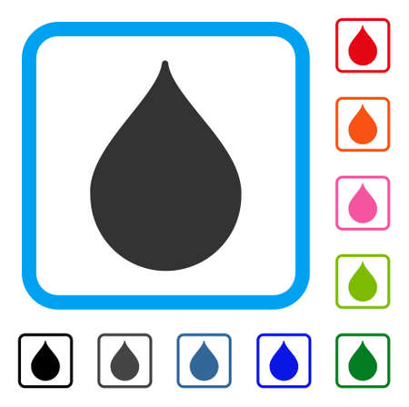Drop icon Иллюстрация