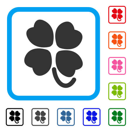 Four-leafed clover icon.