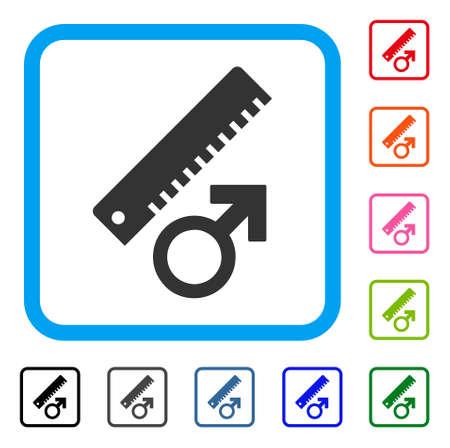 Measure icon Illustration