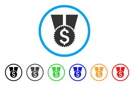 Money Award rounded icon.