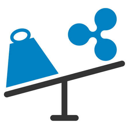 Ripple Trade Swing flat raster pictograph. An isolated icon on a white background. Фото со стока