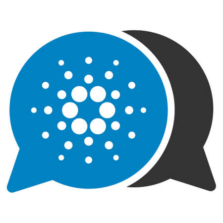 Chat flat vector pictogram. An isolated icon on a white background.