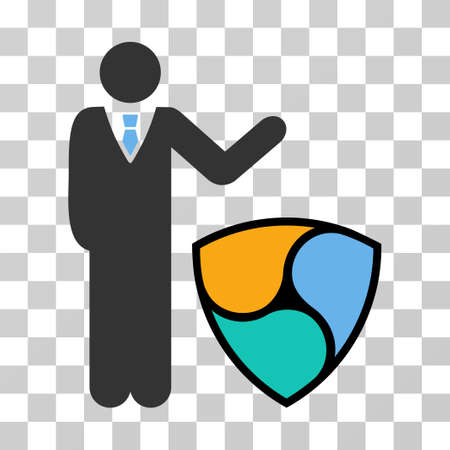 Businessman Show Nem vector icon. Illustration style is flat iconic symbol on a chess transparent background.