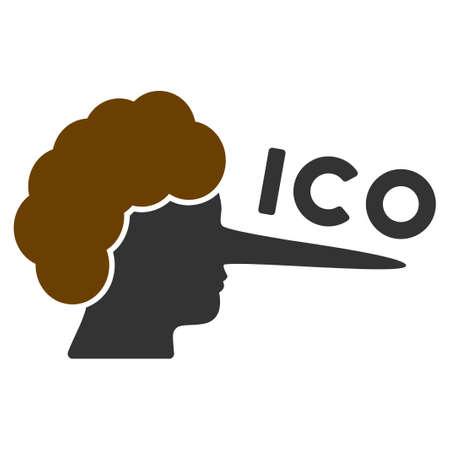 Ico Lier flat vector pictograph. An isolated icon on a white background.