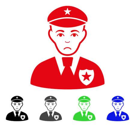 Sheriff symbol Illustration