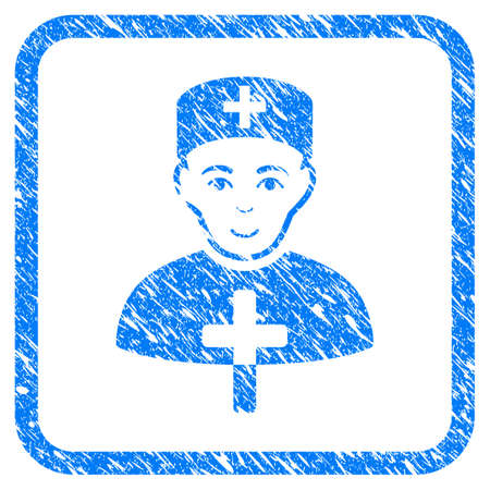 Church Doctor rubber seal stamp