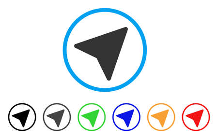 Freelance Paper Plane rounded icon. Style is a flat grey symbol inside light blue circle with additional color versions. Freelance Paper Plane vector designed for web and software interfaces.