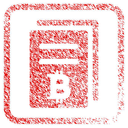 Bitcoin Price Copy Rubber Seal Stamp Watermark Icon Raster Symbol