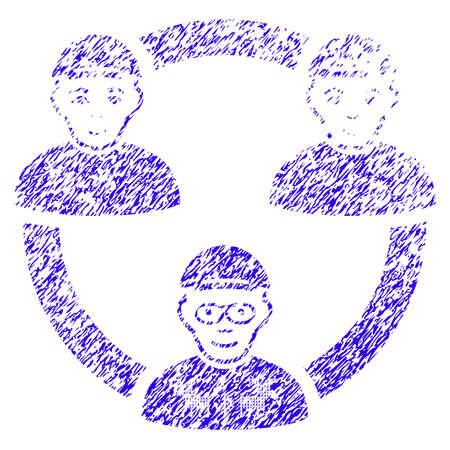 Grunge Geek Collaboration Network rubber seal stamp watermark