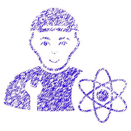 Grunge Science Engineer rubber seal stamp watermark