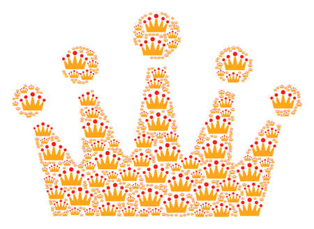 Crown composition image illustration Ilustrace