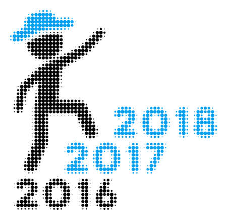 Years and profile avatar image illustration Illustration